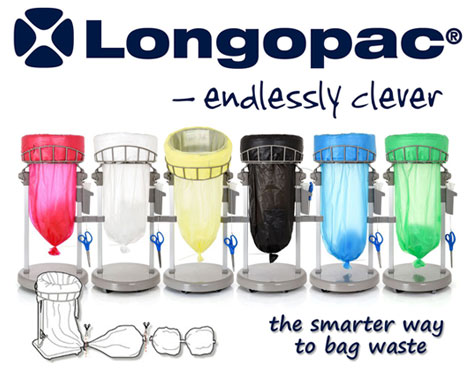 Longopac continuous waste sacks