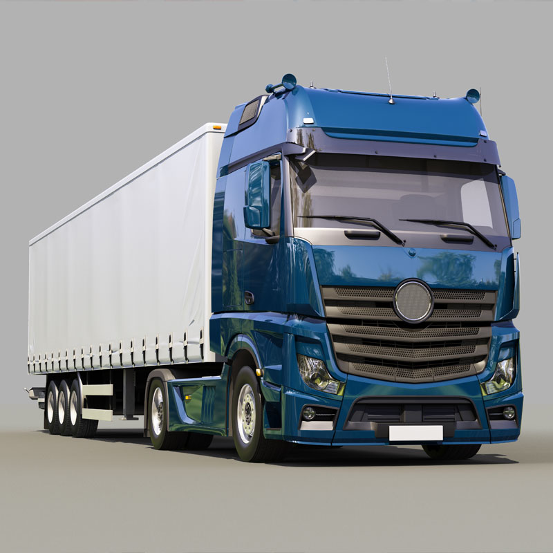 curtainsider hgv waste transporter