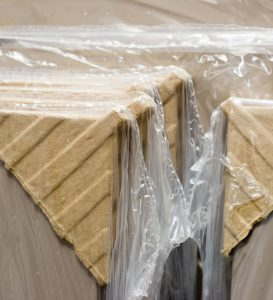HPP plastic cardboard waste