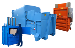 Waste balers and compactors