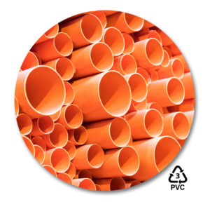 PVC Plastic with symbol