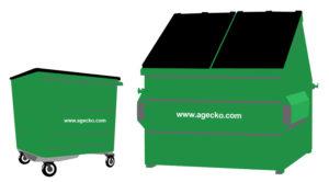 bins and skips
