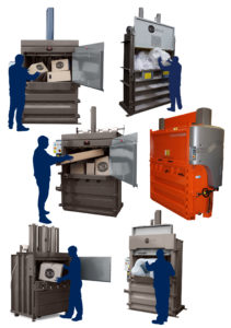 Mill size Balers