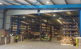 Picture of customers warehouse